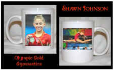 Shawn Johnson Mug - Olympic Gold Medal