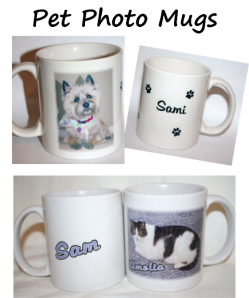 Pesonalized Pet Photo Mugs